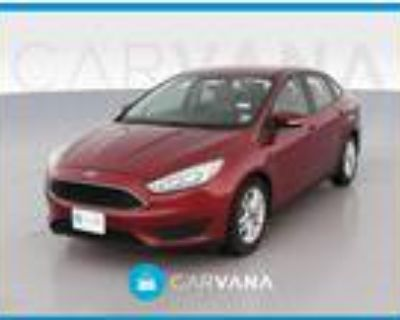 2016 Ford Focus Red, 39K miles