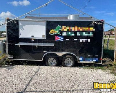 2019 Kitchen Food Trailer with Pro-Fire Suppression System