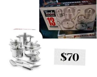 New cookware and tools