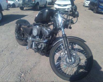 Salvage Black 2006 Harley-davidson Xl883