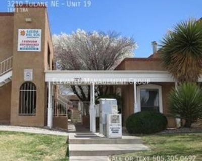 3210 Tulane Dr Ne #19, Albuquerque, NM 87107 1 Bedroom Apartment