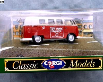 Corgi D984 Hot VW's 25th Anniversary Bus