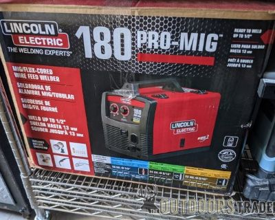 FS/FT brand new Lincoln 180 Pro MIG