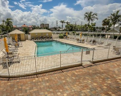 Sand Caper 508 is a beautiful, fully remodeled two bedroom, two full bathroom direct beachfront condo at 6900 Estero Blvd. - South Island
