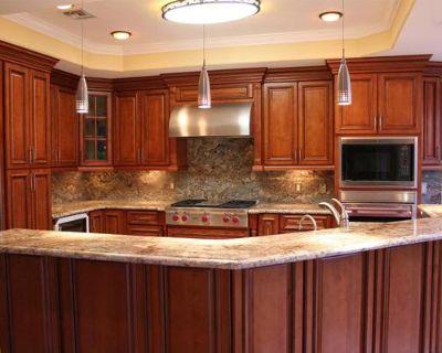 Glazed Maple Kitchen Cabinets to Transform the Kitchen
