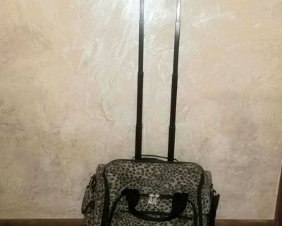 TravelSmith Carry on Luggage Bag on Rollers