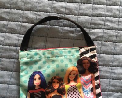 Small Barbie purse free with purchase