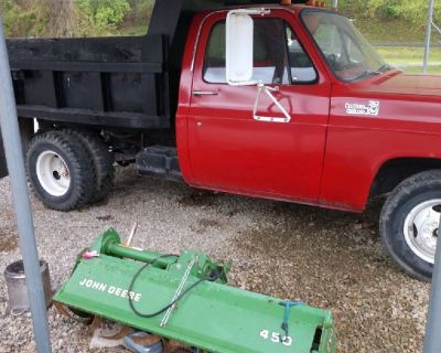Joe's1 ton dump truck and and tractor  for hire