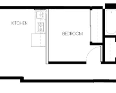 Beautiful South Facing One Bedroom with Pantry