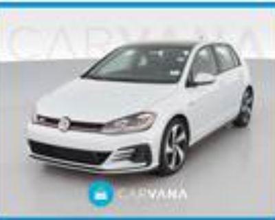 2019 Volkswagen GTI White, 13K miles