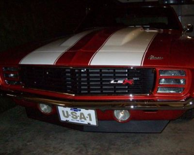 """2""""x6"""" Black Lsx Emblem Trans Am Camaro Vega Mustang Nova Chevelle Corvette"""