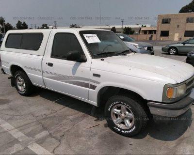 Salvage White 1997 Mazda B-series 2wd Truck