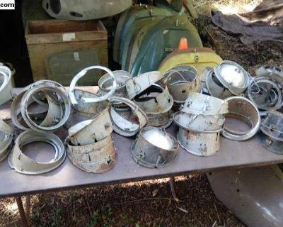 Original HELLA Headlight Bucket Head Light Parts