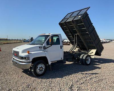 2007 GMC C4500 Flatbed Dump Trucks Truck