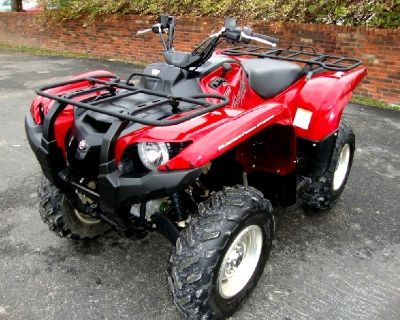 YAMAHA 2009 GRIZZLY 700 4x4 Special Edition - Red Midnight Armor