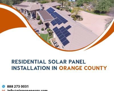 Residential Solar Panel Installation in Orange County