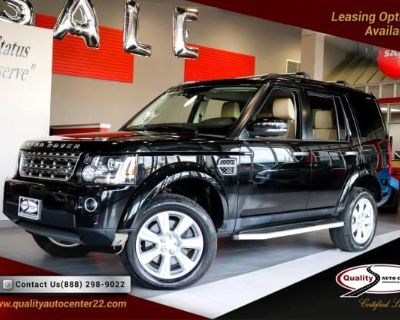 2016 Land Rover LR4 HSE Vision Assist and Climate Comfort Pkg Dual Roo