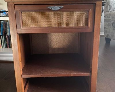 Great Condition Pier 1 Imports Nightstand