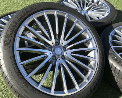 "21"" Mercedes AMG GLC63 & GLC43 OEM Wheels and Tires"