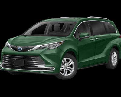 New 2021 Toyota Sienna Limited All Wheel Drive Minivan/Van