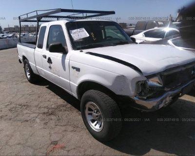 Salvage White 1999 Ford Ranger