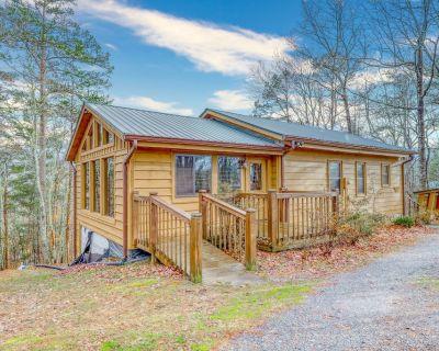 Friendly dog-friendly cabin w/ private gas grill, wood stove, & full kitchen! - Blue Ridge