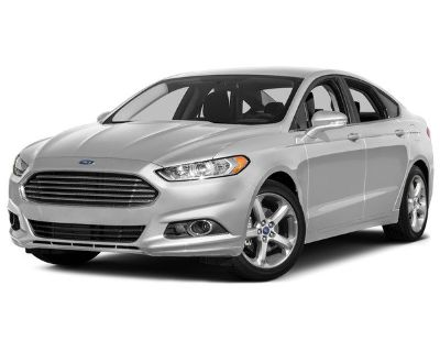 Pre-Owned 2016 Ford Fusion SE AWD NAV LUX