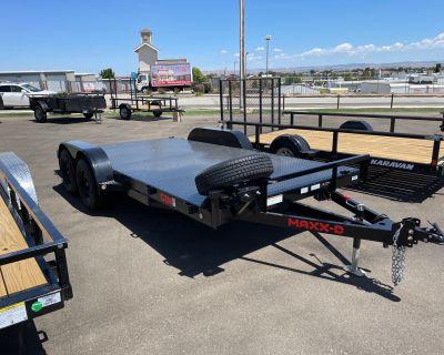"""2021 MAXXD TRAILERS 16' X 83"""" ANGLE CAR HAULER Trailer Paso Robles, CA"""
