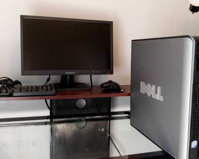 Desktop-COMPUTER FOR SALE!!!! (Tower, Monitor, Keyboard & Mouse)