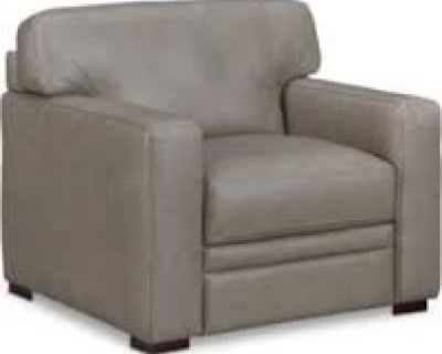 """Avenell 39"""" Leather Armchair Reg. $1219.00 Outlet Price $499"""