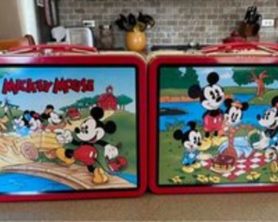 Mickey Mouse Lunch Tins