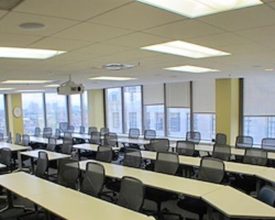 Private Meeting Room for 40 at Back Bay Meeting, Conference, and Workshop Center