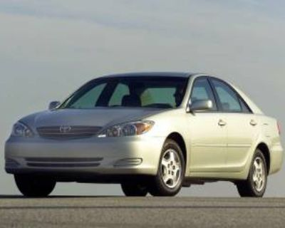 2003 Toyota Camry SE Automatic