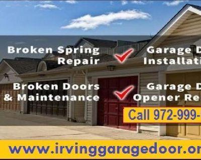 Fast Garage Door Opener Repair 75039, Texas