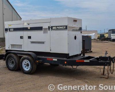 2010 MULTIQUIP 120 KW Generators, Electric Power