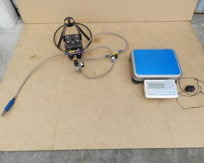 Nos 14254nos Nitrous Refill Station Transfer Pump Kit With Scales