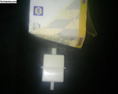 fuel filter 82-89 vanagon 8mm one side 10mm other