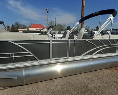 2022 Sylvan 822 LZ 115HP TRIPLE TOON