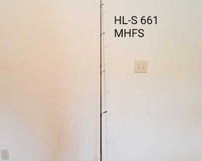 NEW Daiwa 6.6 ft 2 pc Spin Cast Pole