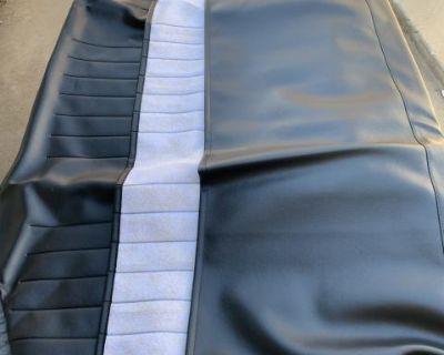 TMI rear seat cover - Black