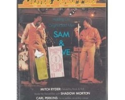 TIME BARRIER EXPRESS ~ Magazine #26 Sam & Dave !