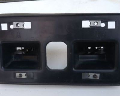 96-04 Acura Rl Front License Plate Bracket Bumper Lower Tag 71180-sz3-a000