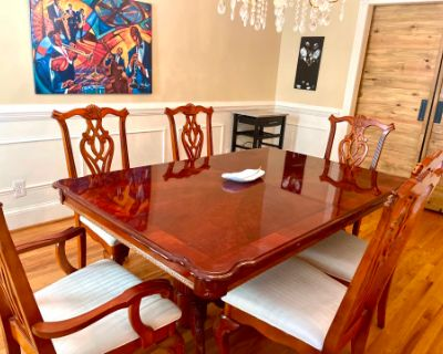 Stately Dining Room & Office, Roswell, GA