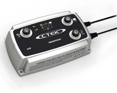 Ctek Smartpass 12 Volt 12v Dc Battery Energy Management/distribution Unit