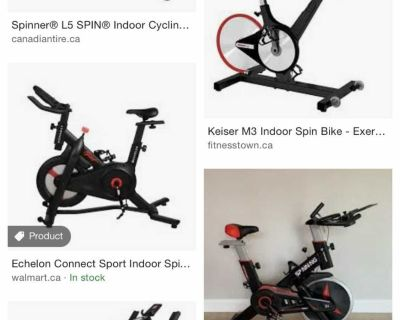 Looking for spin bike