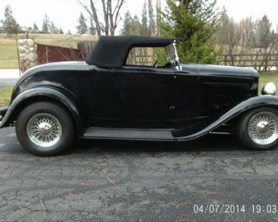 1932 Ford Roadster 2-door All-Steel Deluxe Restored V8-8