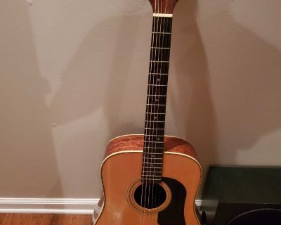 Washburn 1994 dread knot guitar
