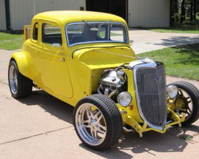 1934 Ford 5 Window 2-door 5-Window All-Steel Coupe Original Restored V8-8