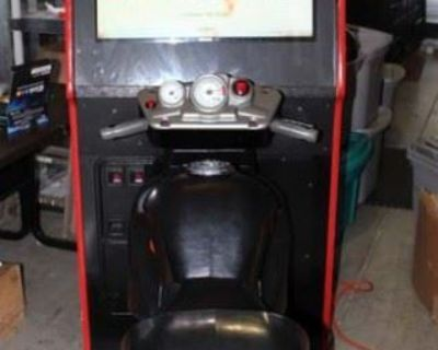 #1358: Road Burners Arcade Auction Online