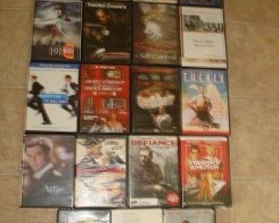KOOL MIXED SET OF 63 DVD's !